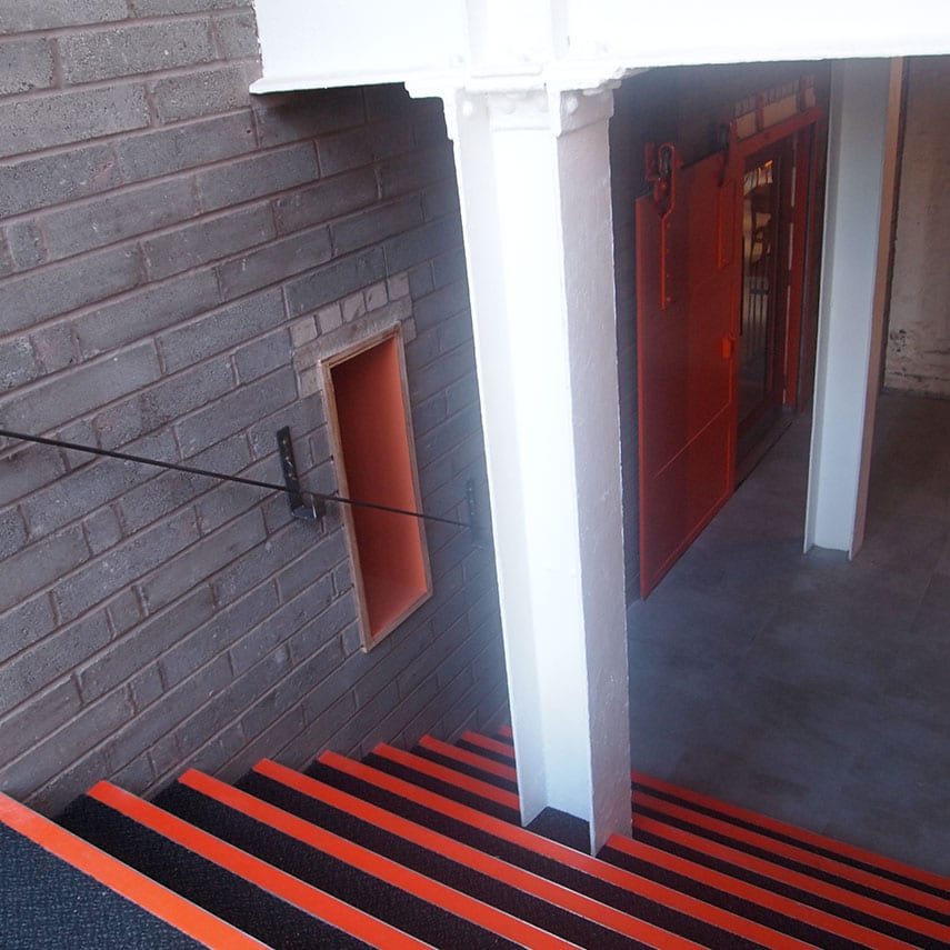 Pen Factory Entrance Staircase