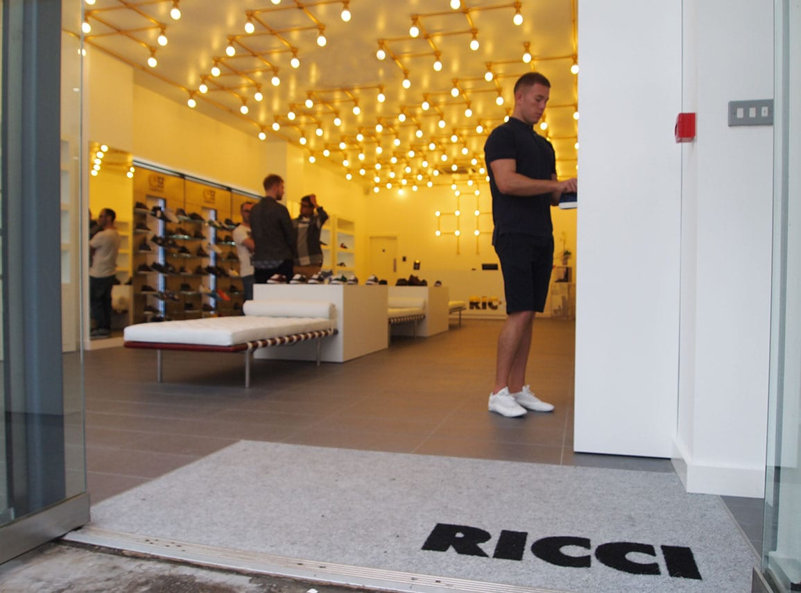 Ricci Shoe Shop Entrance