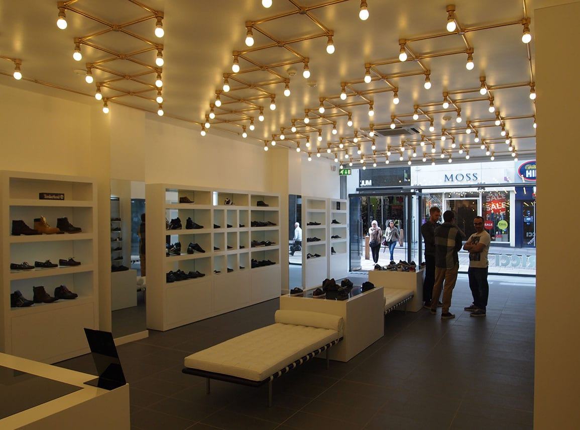 Ricci Shoe Shop Interior