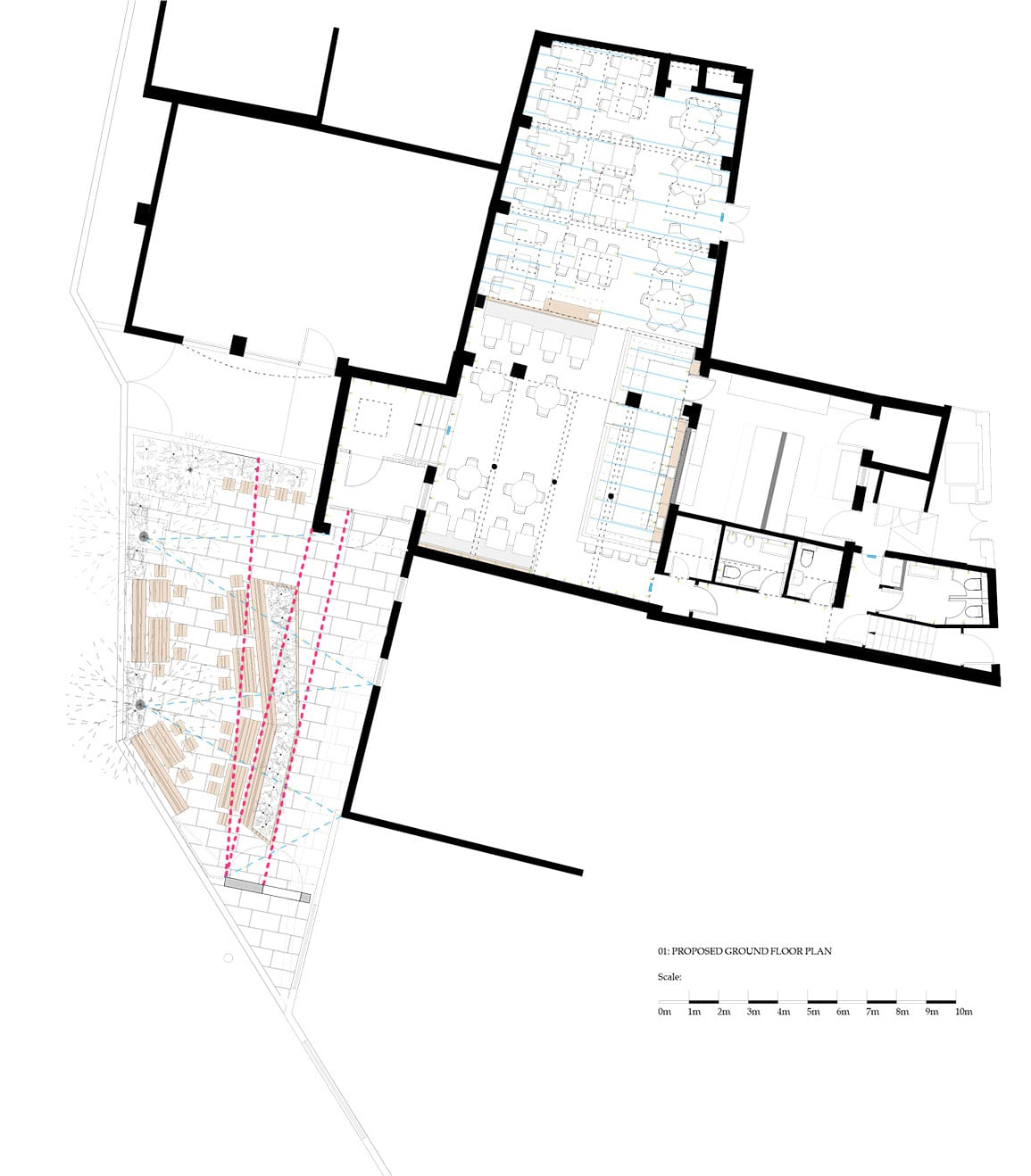 Shears Yard Architectural Emporium Leeds Drawing