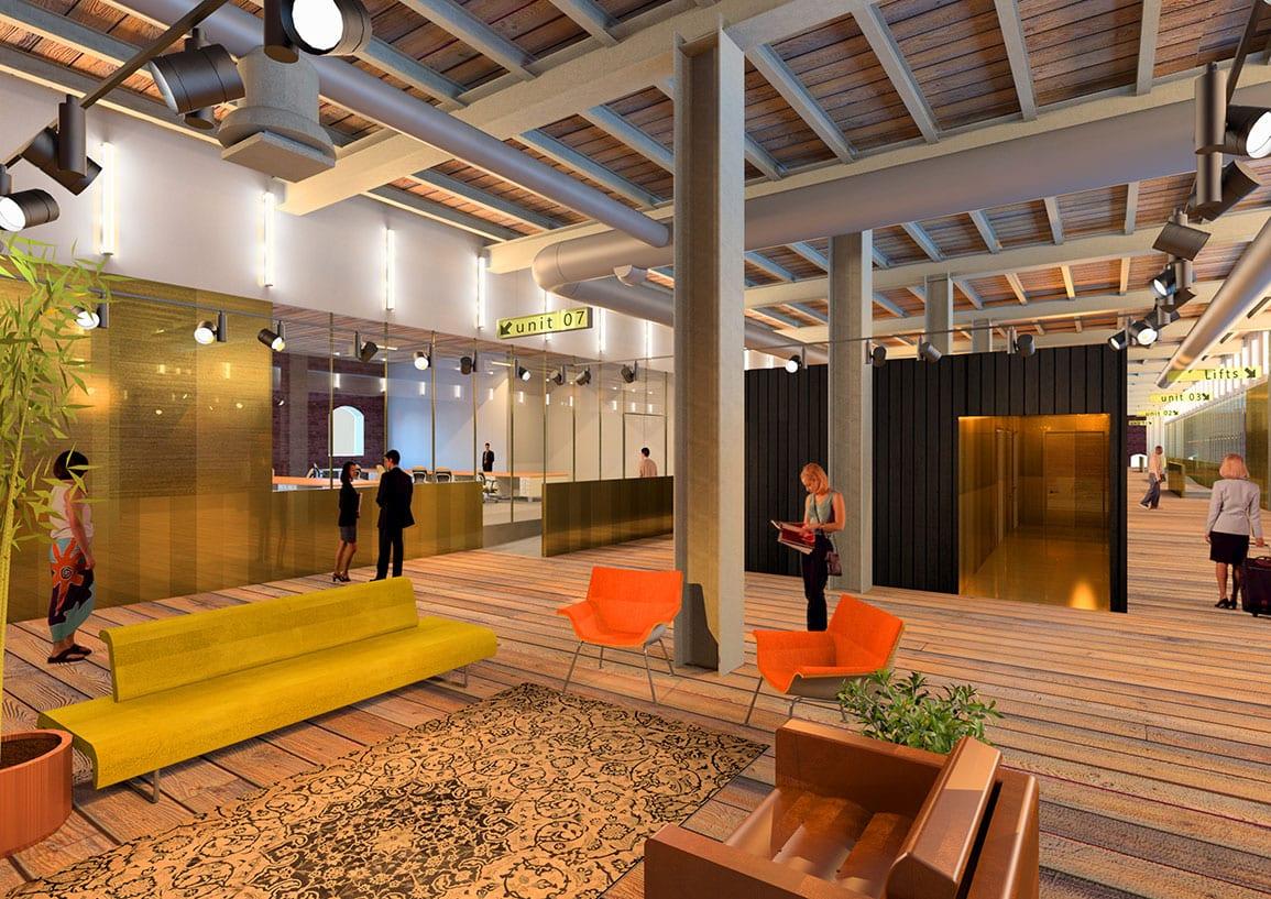 St Georges Quarter Interior Proposal by Architectural Emporium