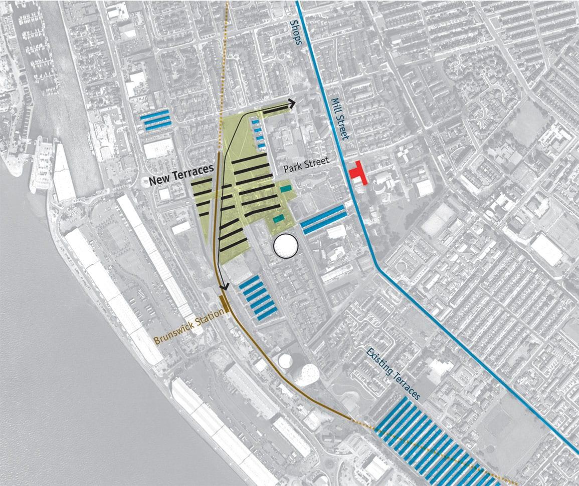 Park St Masterplan Diagram