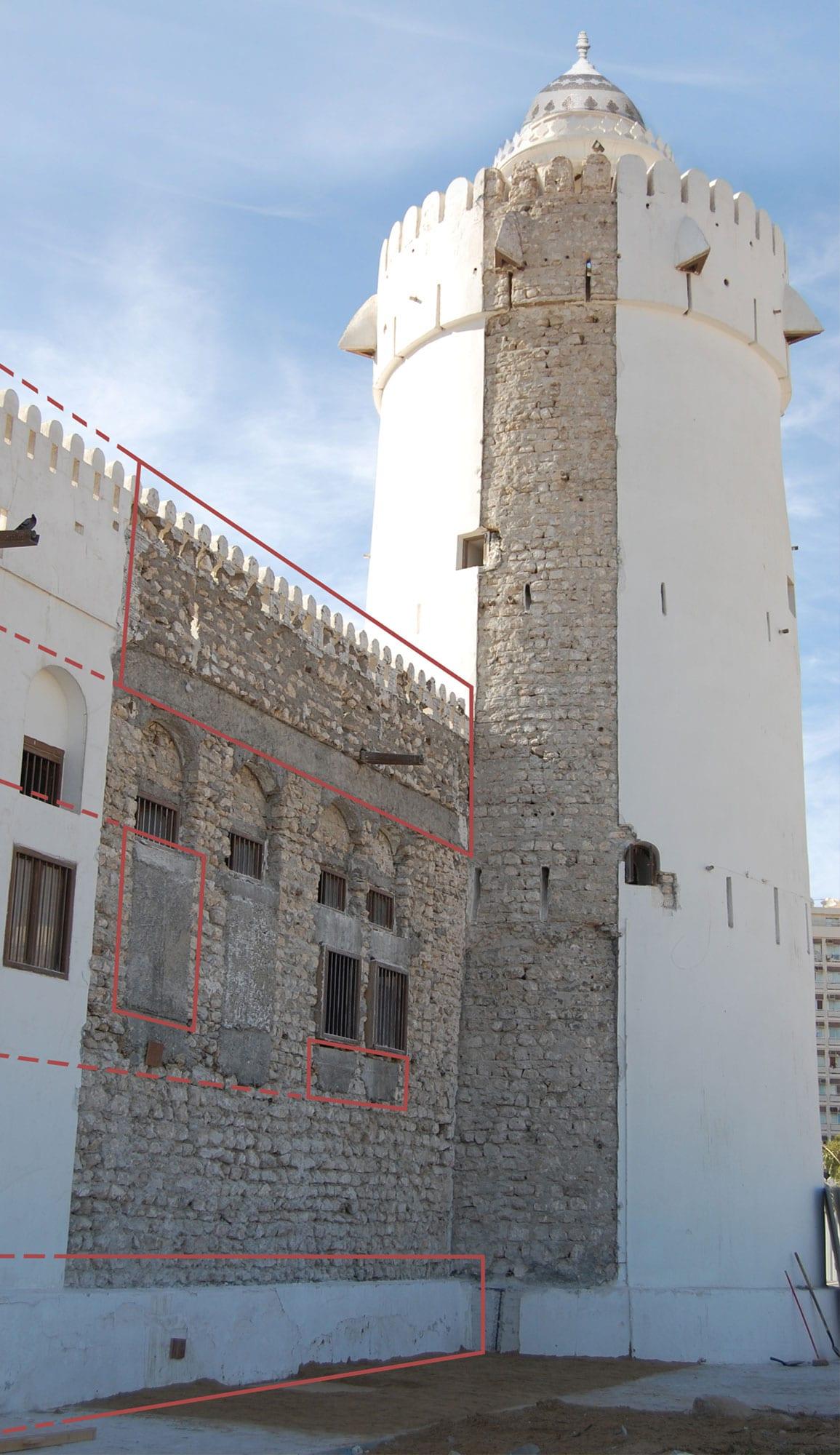 Qasr Al Hosn Tower Diagram