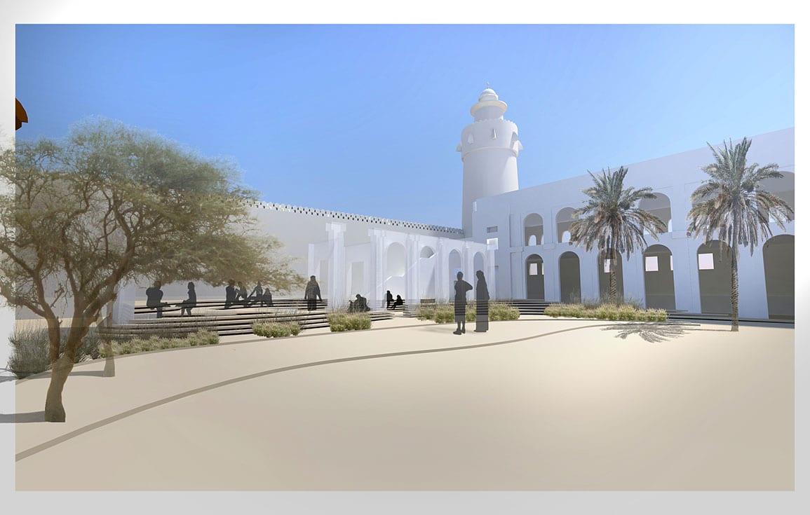 Qasr Al Hosn External Collage