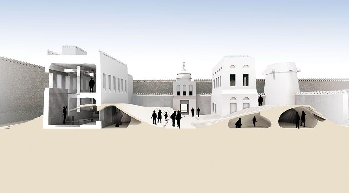 Qasr Al Hosn Interior Section