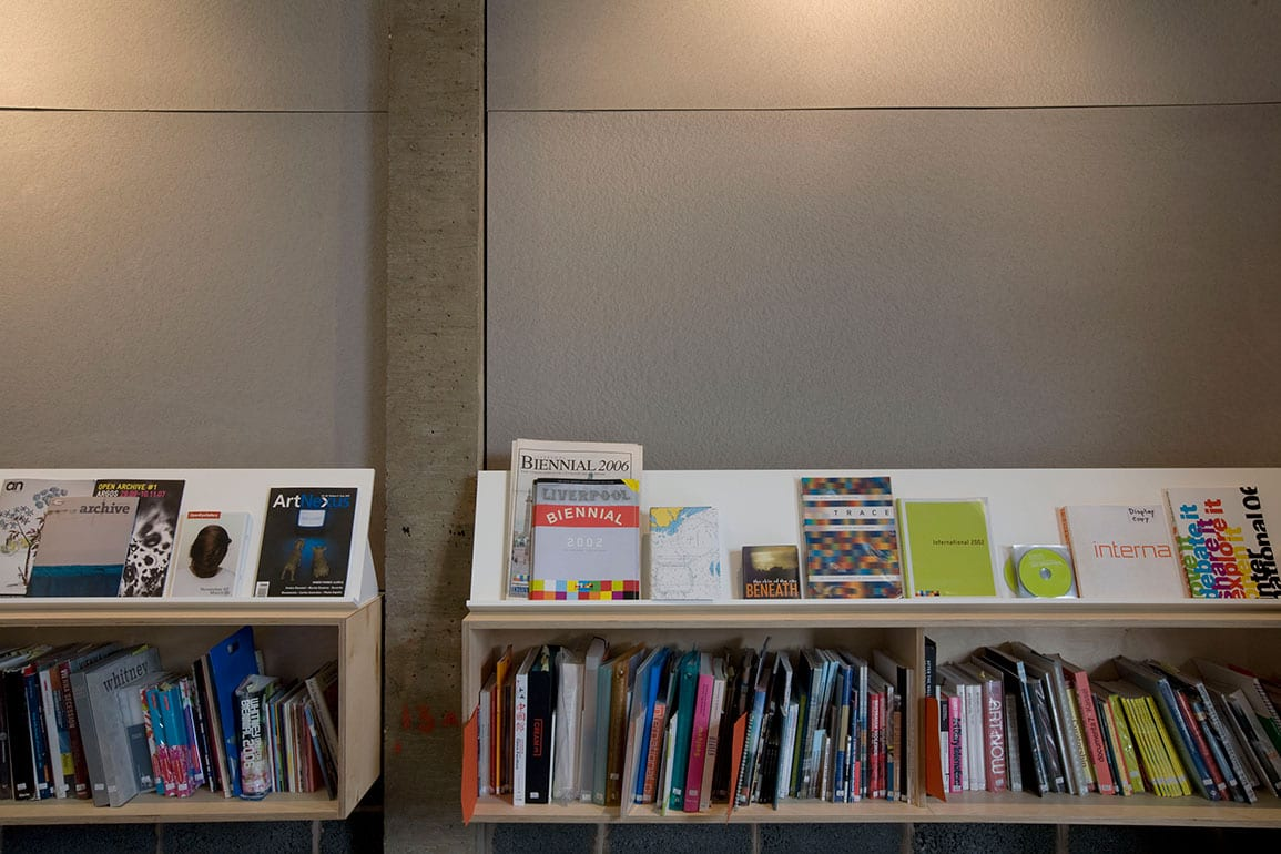 Liverpool Biennial Display Shelving Acoustic Panels