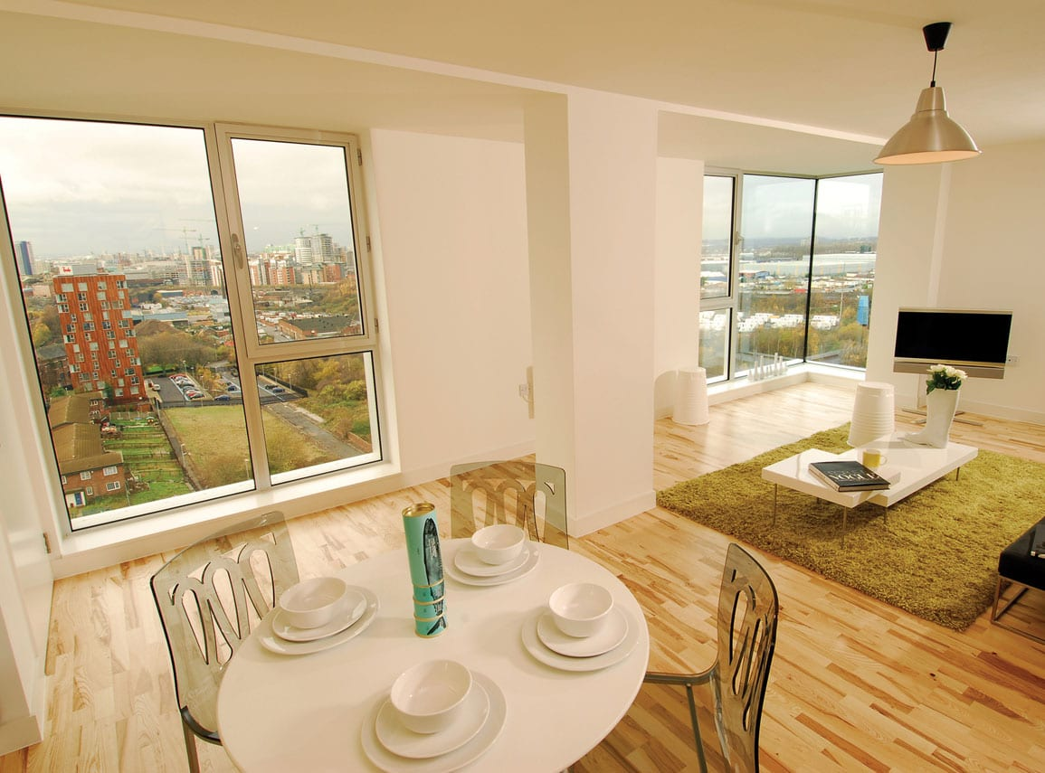 3 Towers Interior Urban Splash Show Apartment