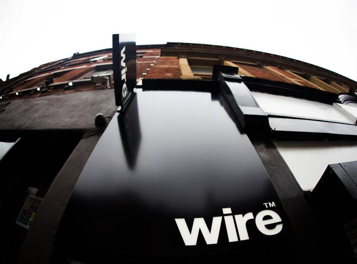 Wire External SIgnage