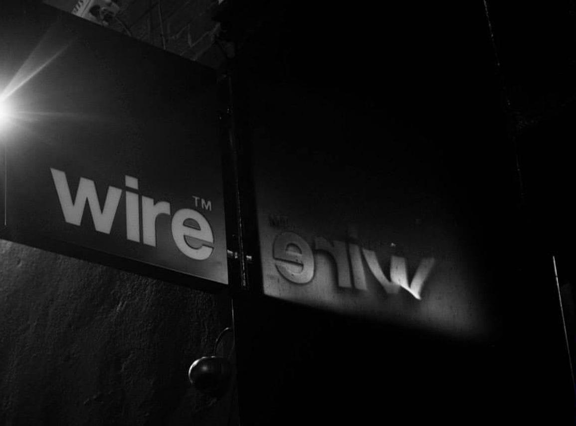 Wire Signage