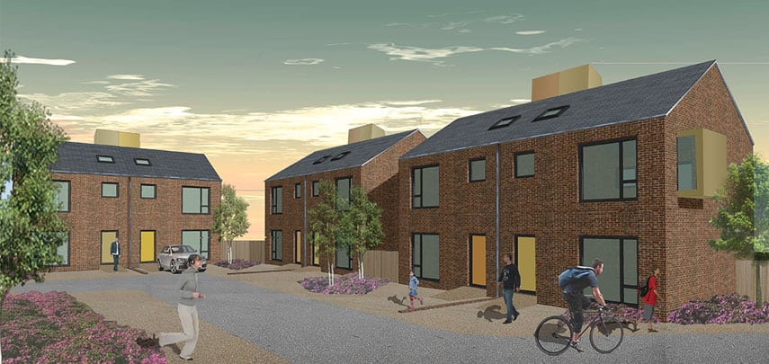 Hart Street Courtyard New Build Housing Southport