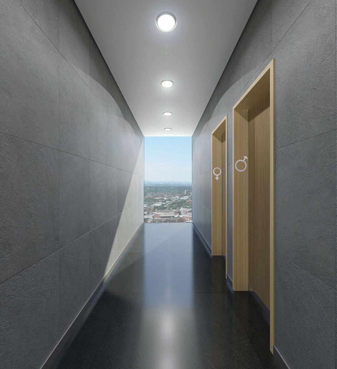 Miller St Toilet Corridor