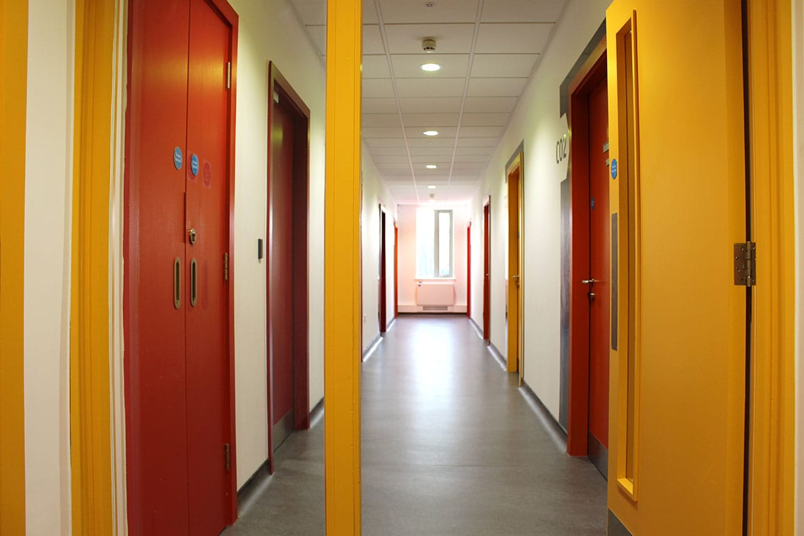 Villa Medical Centre Architectural Emproium Corridor Colours