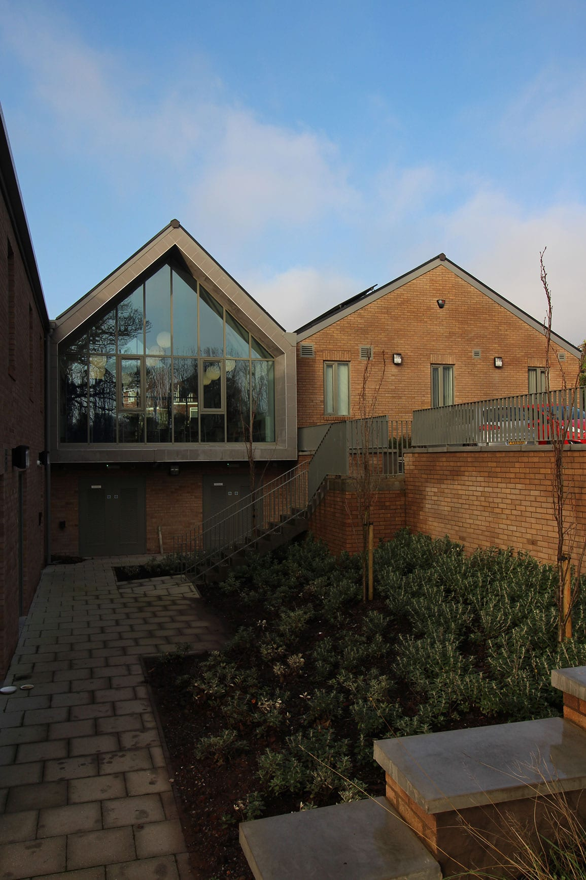 Villa Medical Centre Courtyard Architectural Emporium