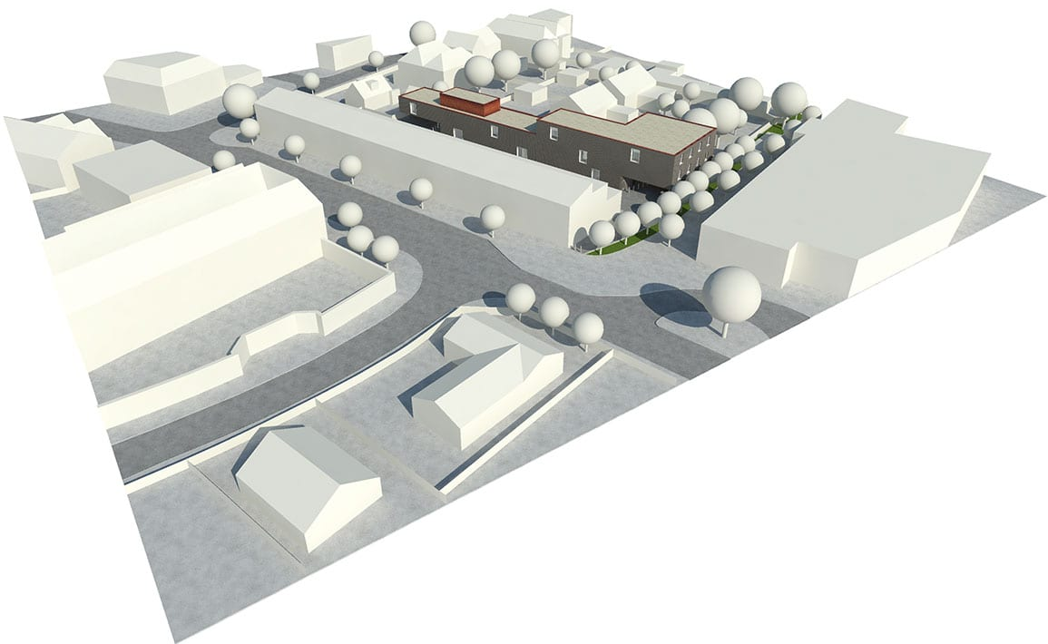 Contextural Isometric View of Formby Carehome Architectural Emporium