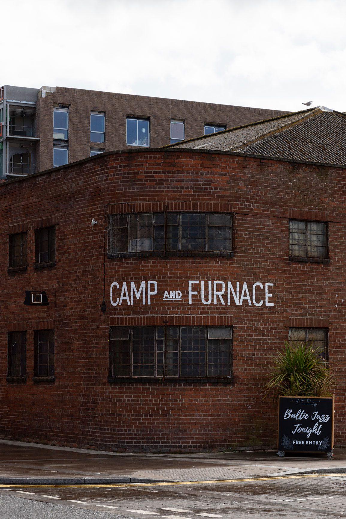 Camp and Furnace Architectural Emporium Entrance. Photo: Matthew Westgate