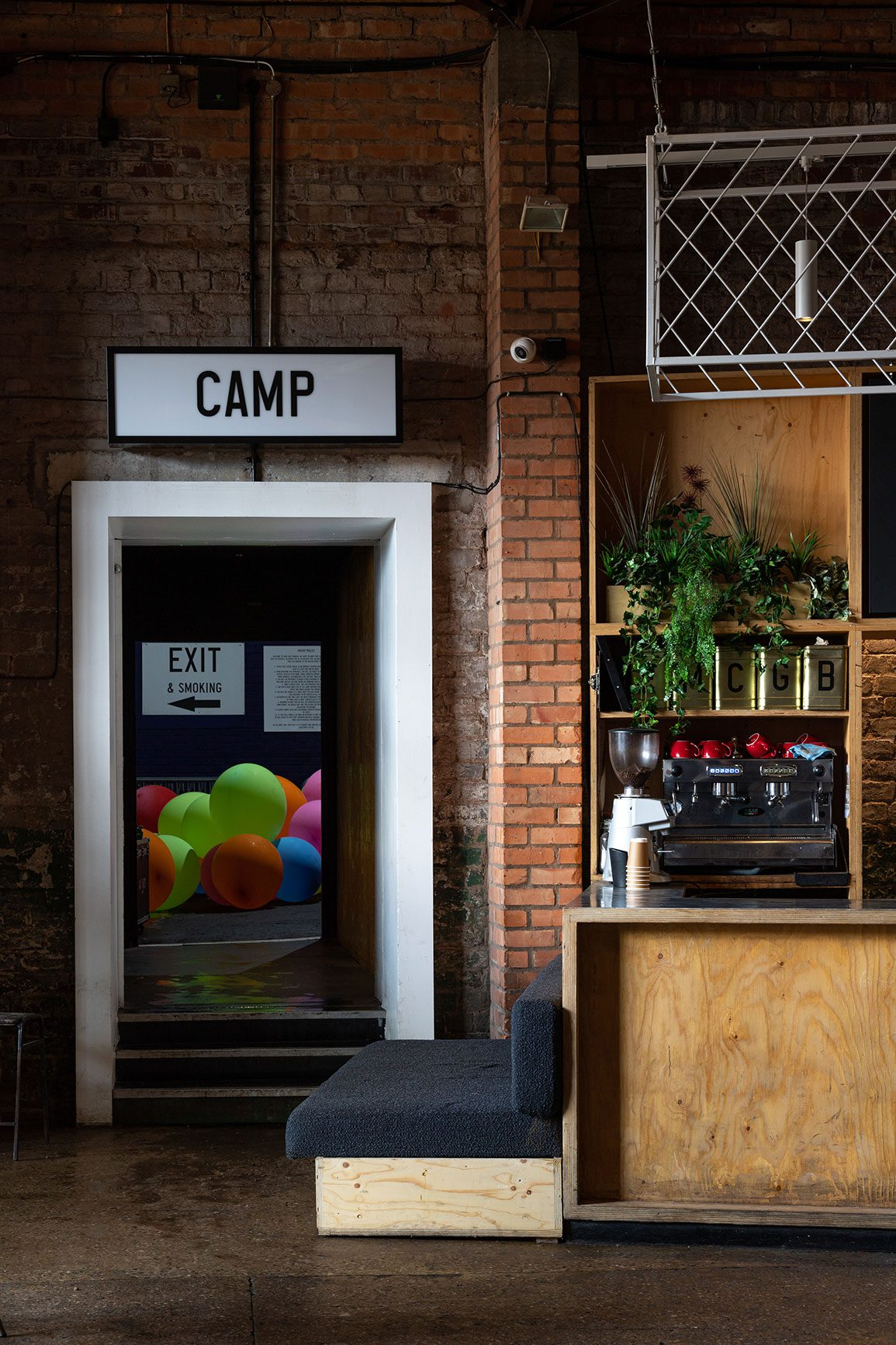 Camp and Furnace Architectural Emporium Lobby. Photo: Matthew Westgate
