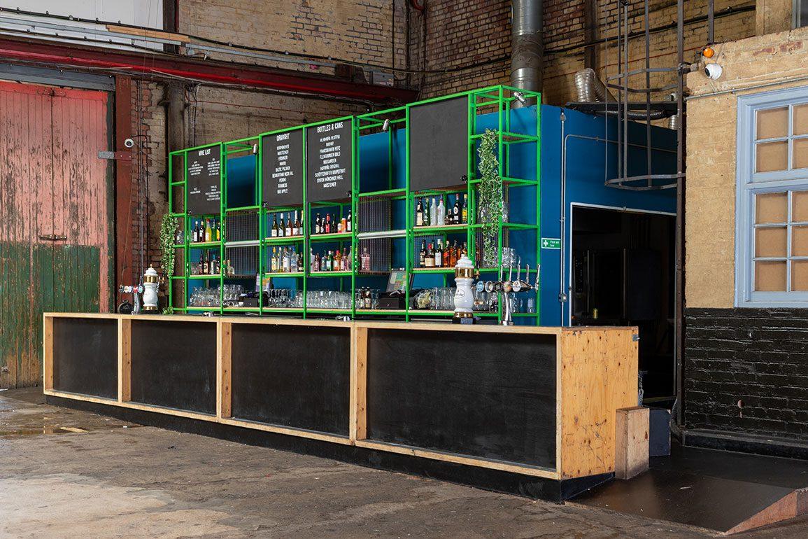 Camp and Furnace Architectural Emporium Bar. Photo: Matthew Westgate