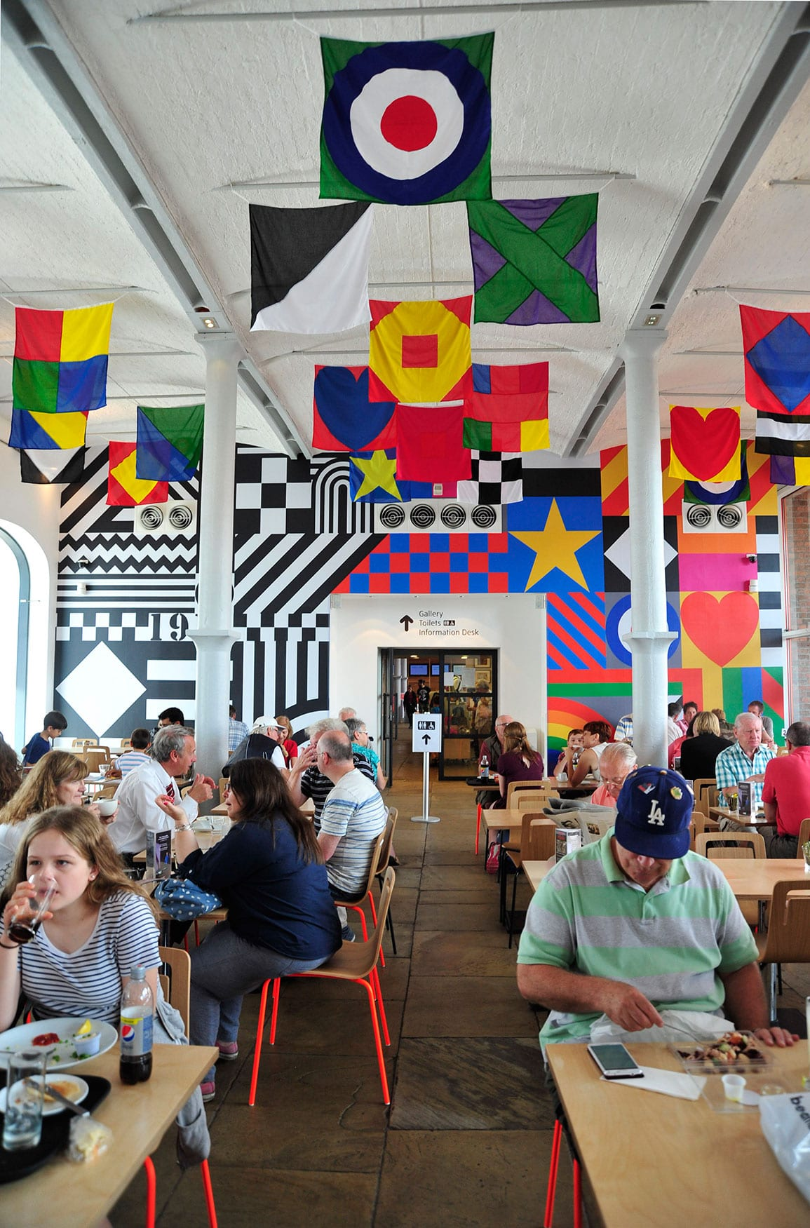 Tate Liverpool Cafe Architectural Emporium Sir Peter Blake