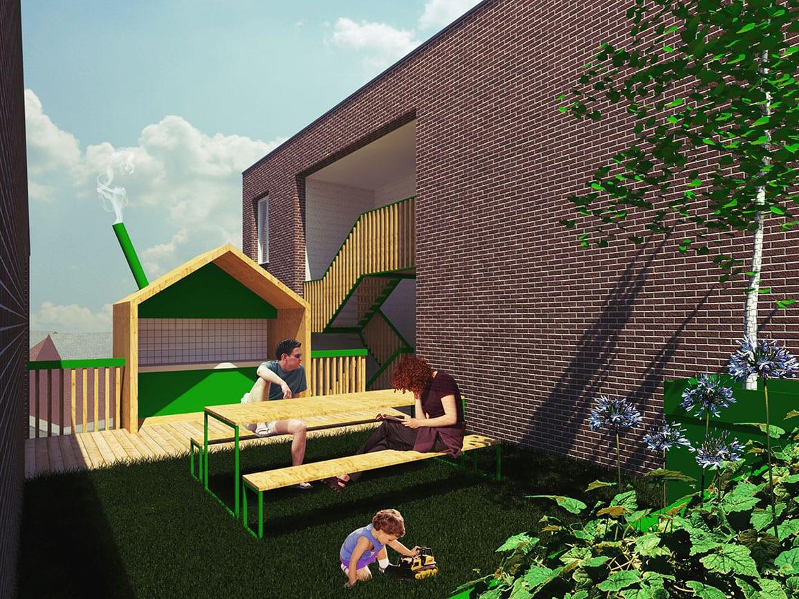 Homebaked Architectural Emporium Roof Garden