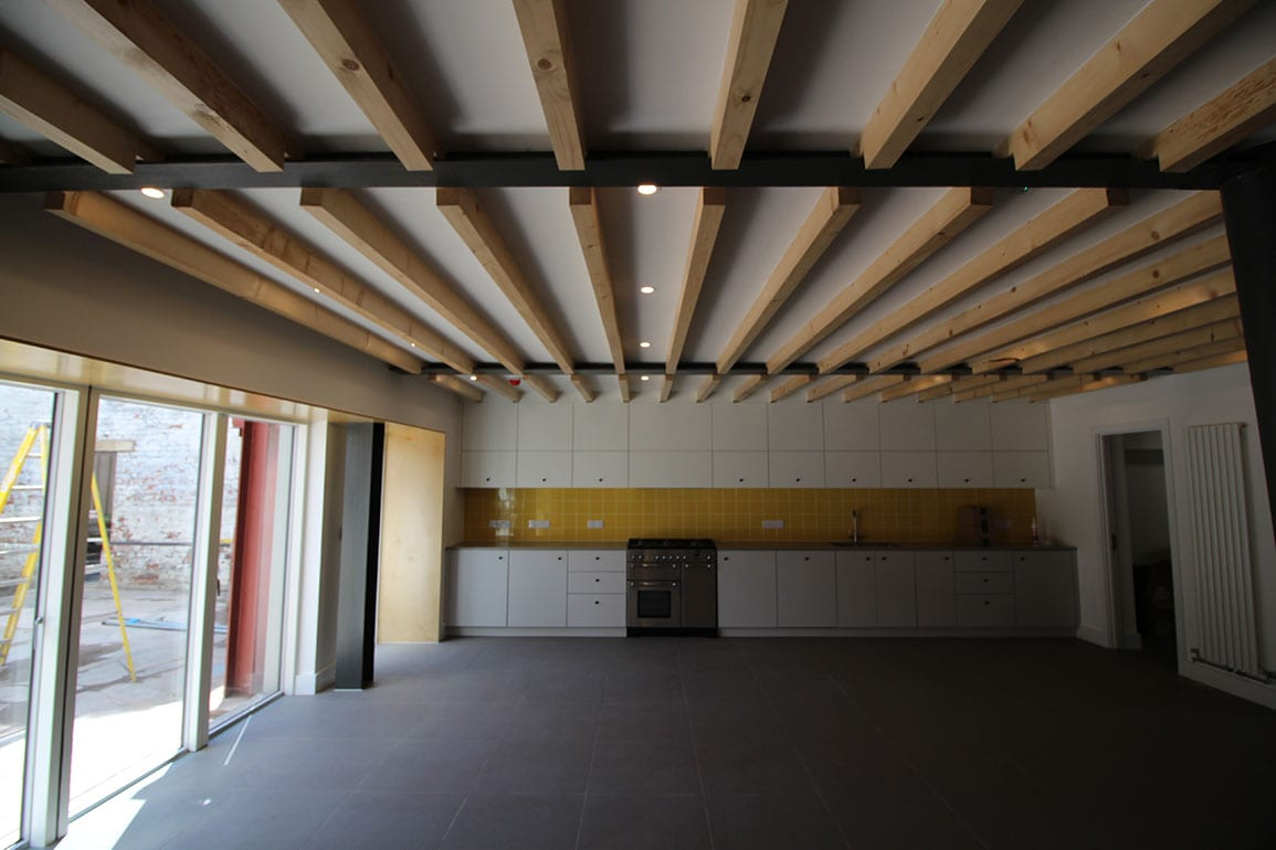 Walk the Plank Architectural Emporium Salford Arts Office Training Pyramid Kitchen