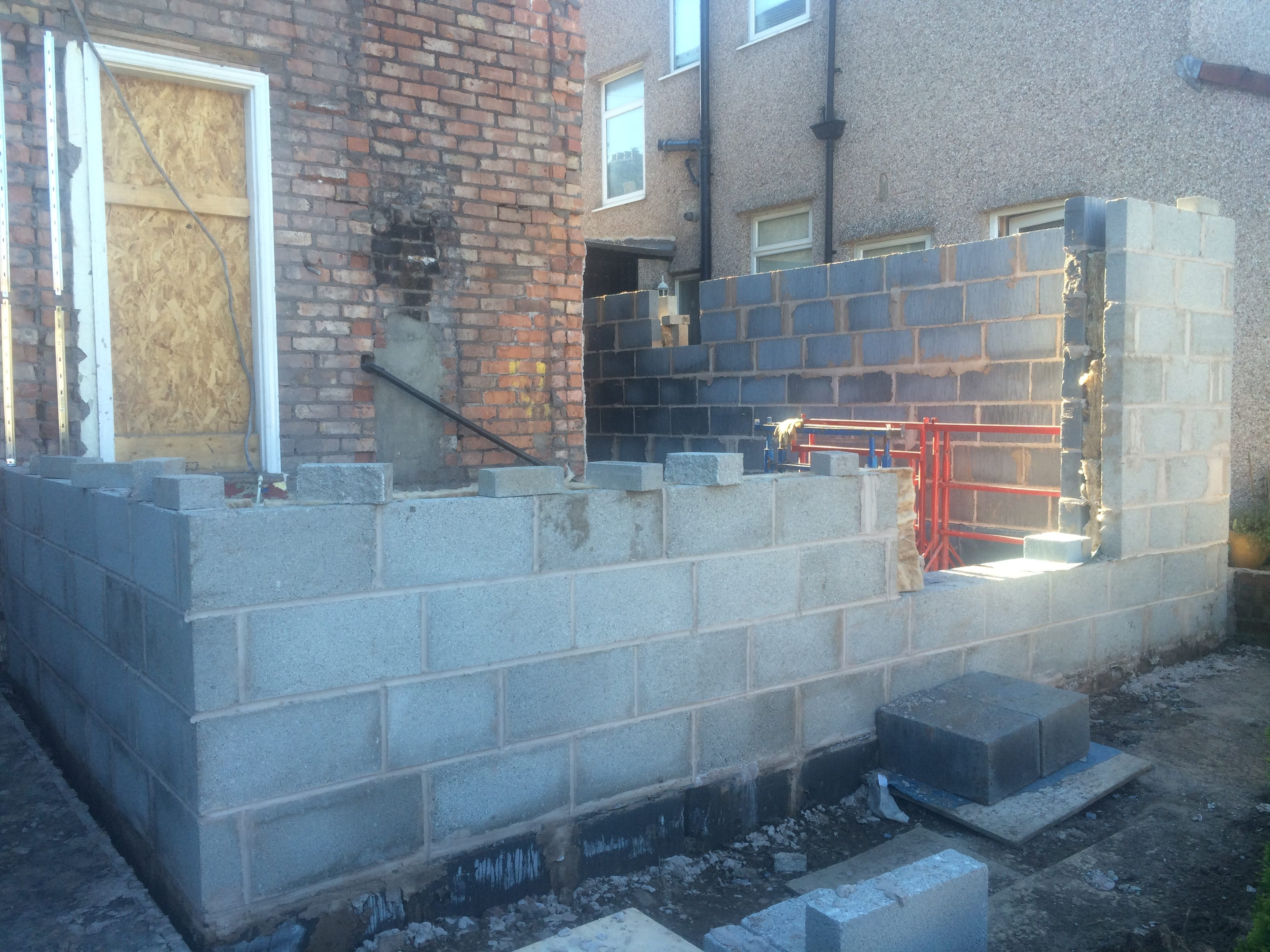 Toby and Jess\' House Takes Shape » AE