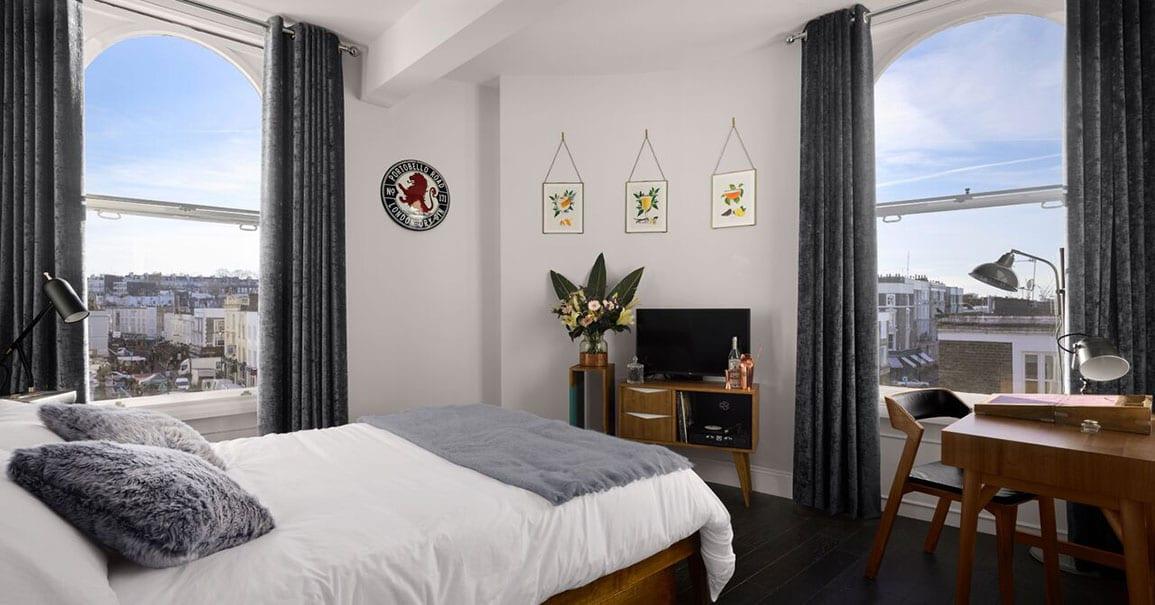 Bedroom Hotel Portobello Rd Distillery Architectural Emporium Gin