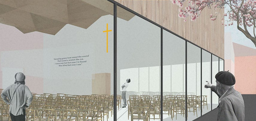 Church Proposed Option Architectural Emporium