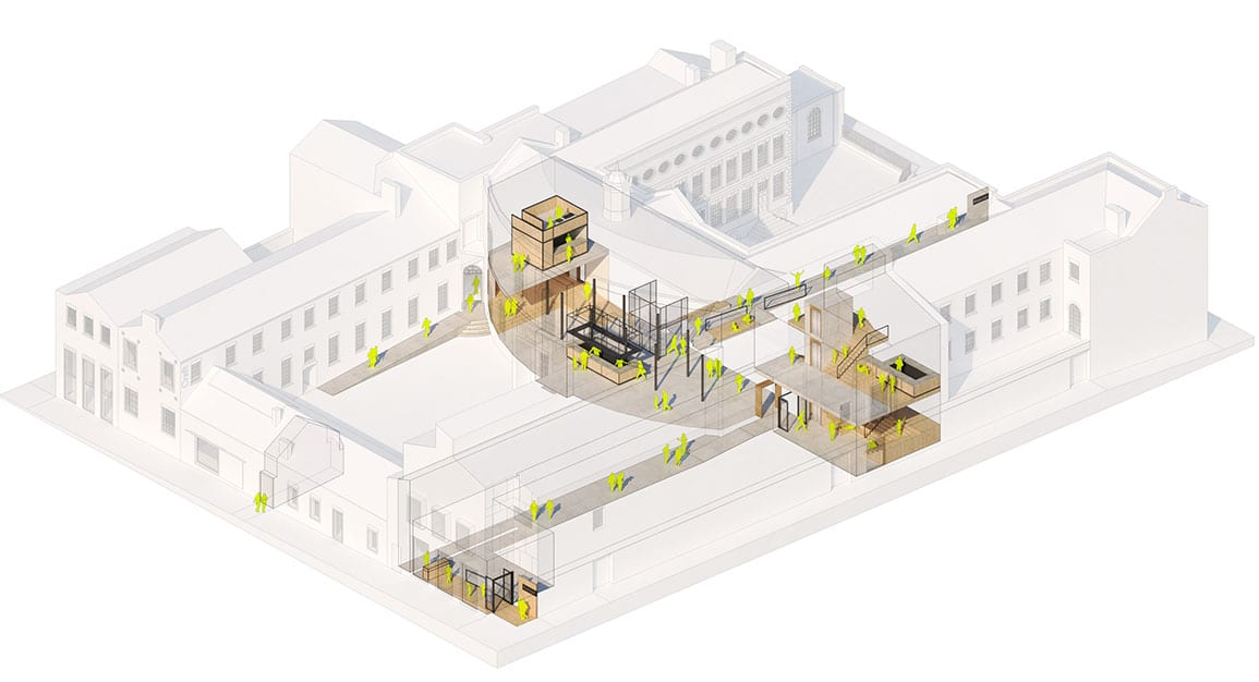 Bluecoat Architectural Emporium 3d refurbishment proposals