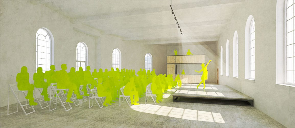 Bluecoat Architectural Emporium performance space proposals