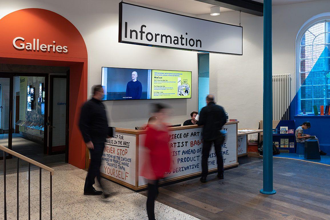 Bluecoat Arts Centre Architectural Emporium Information Reception Photo: Matthew Westgate