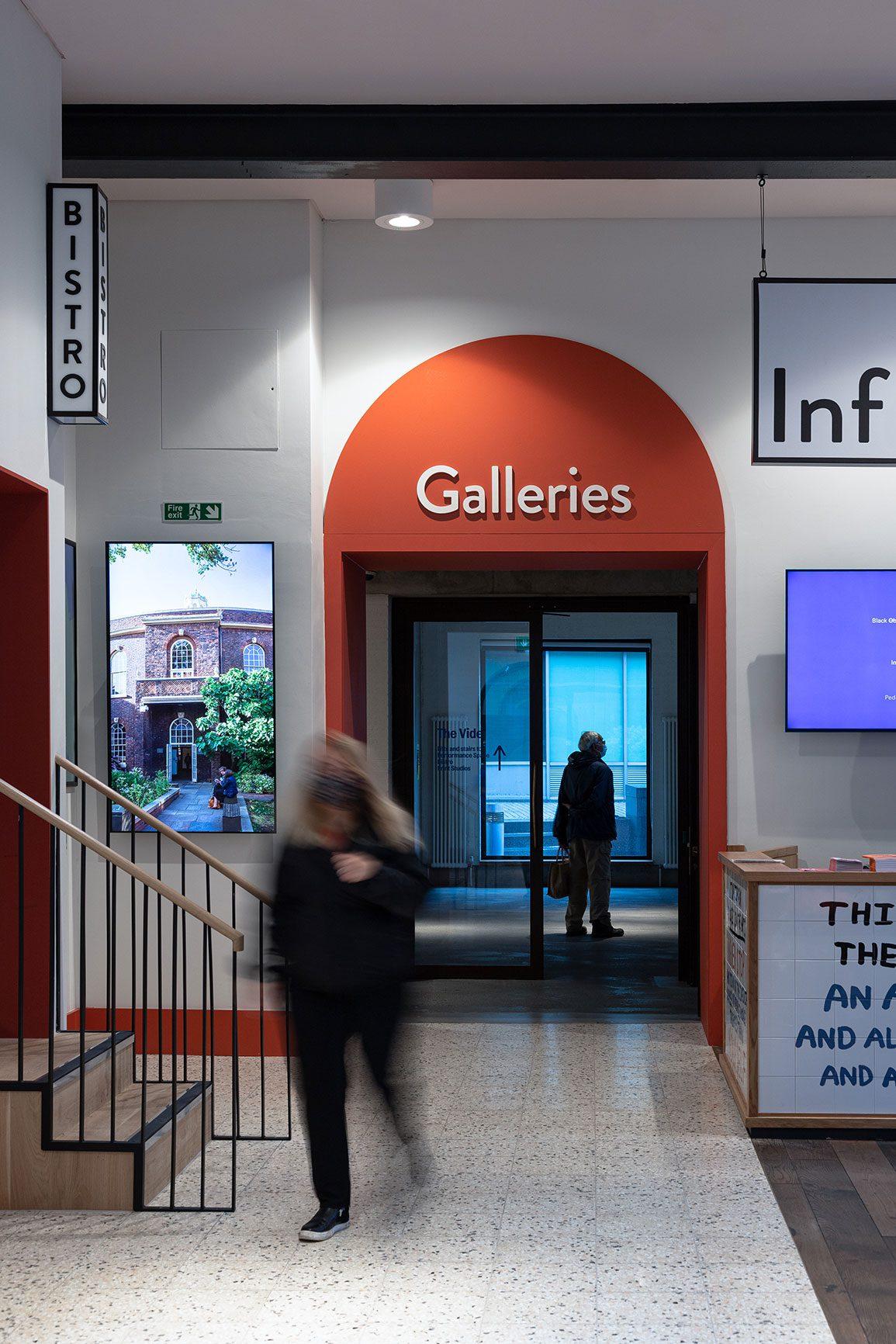 Bluecoat Arts Centre Liverpool Architectural Emporium Gallery Entrance. Photo: Matthew Westgate