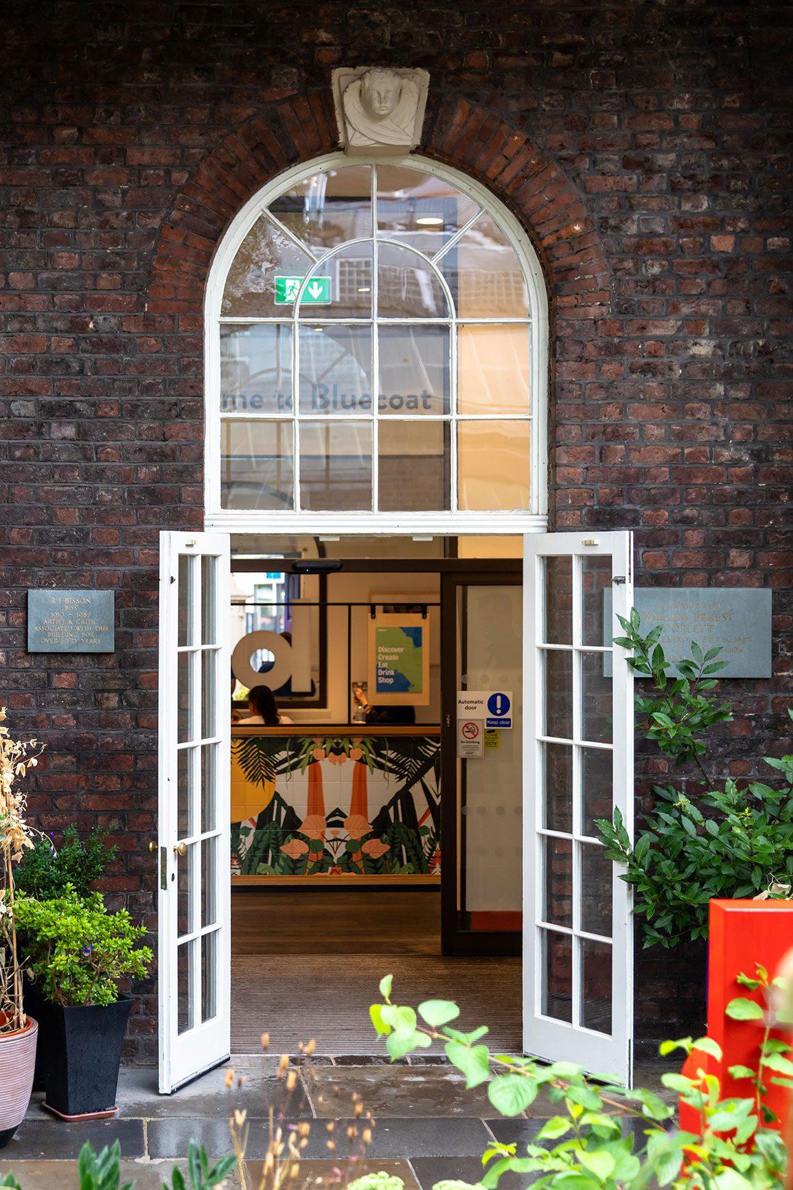 Bluecoat Arts Centre Liverpool Architectural Emporium Hub Entrance. Photo: Matthew Westgate