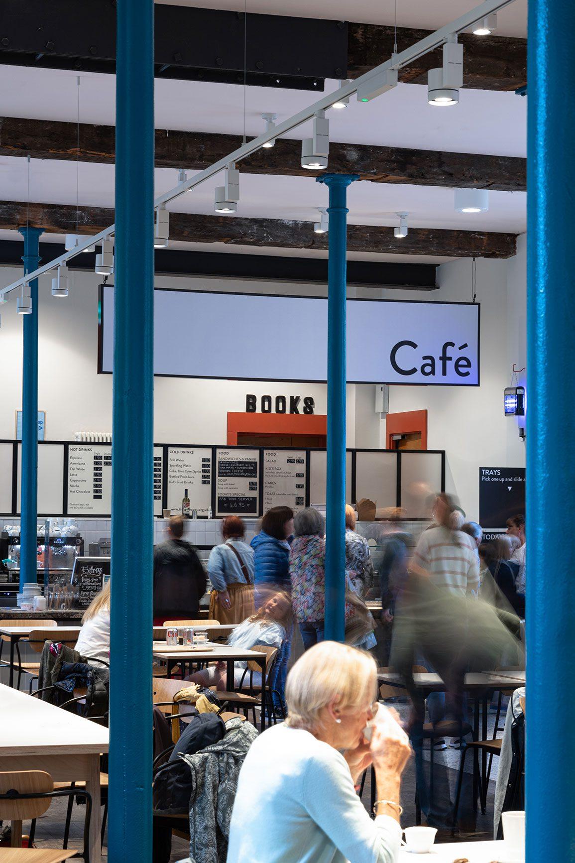 Bluecoat Arts Centre Liverpool Architectural Emporium Hub. Photo: Matthew Westgate