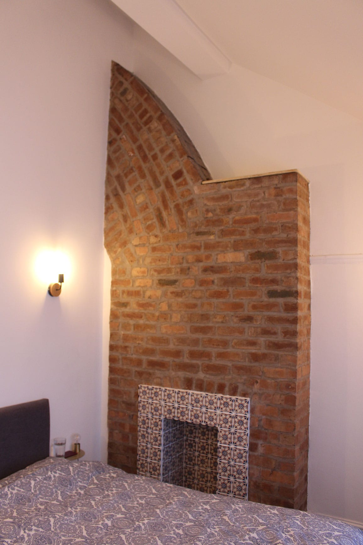 Exposed roof and chimney House Extension Liverpool Architectural Emporium