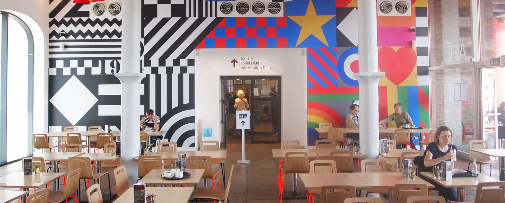 Architectural Emporium Tate Liverpool Cafe Sir Peter Blake