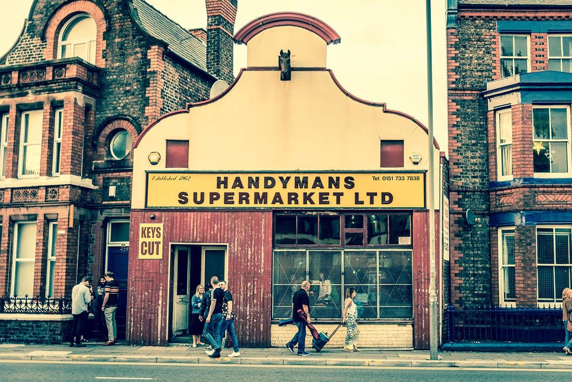 Handyman Supermarket Facade Architectural Emporium