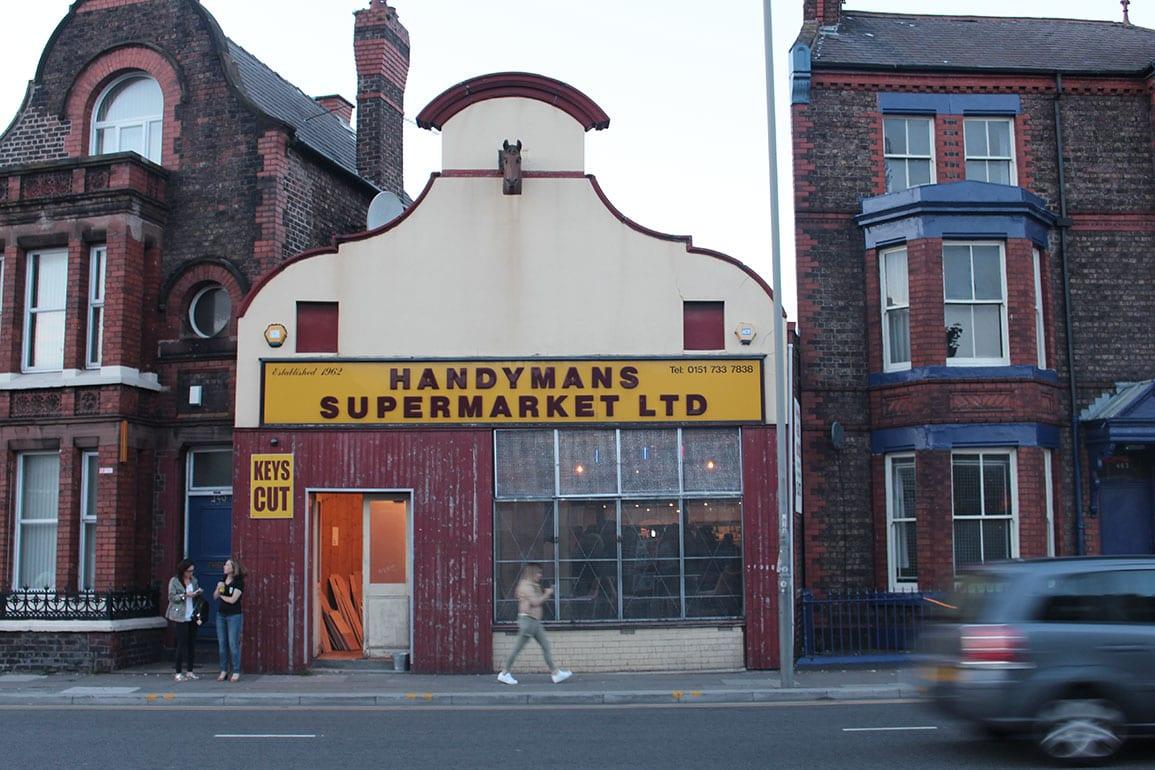 Handyman Supermarket Architectural Emporium Brewery Tap Smithdown Road Liverpool