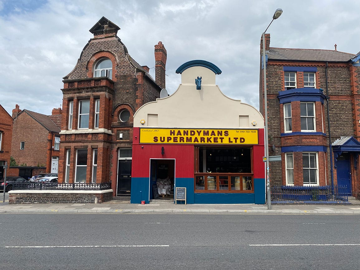 Handyman Supermarket Architectural Emporium Pub Brewery Smithdown Rd