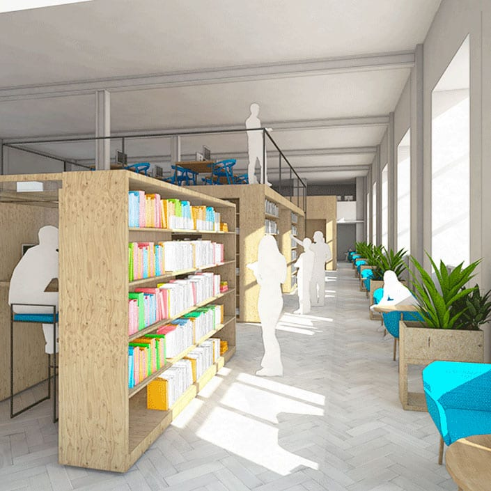Bluecoat Library Architectural Emporium Competition