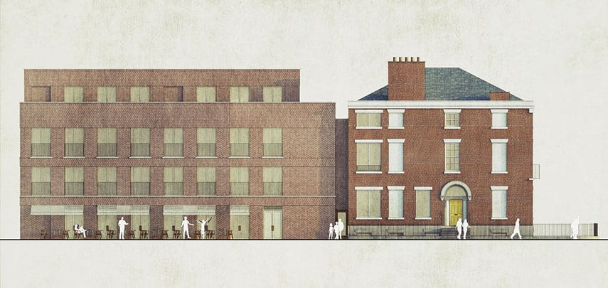 Blackburne Place Liverpool Georgian New Build Brick Architectural Emporium