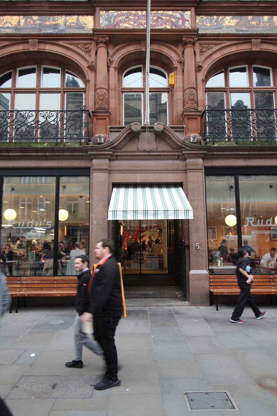 Rudy's Pizzeria Liverpool Architectural Emporium