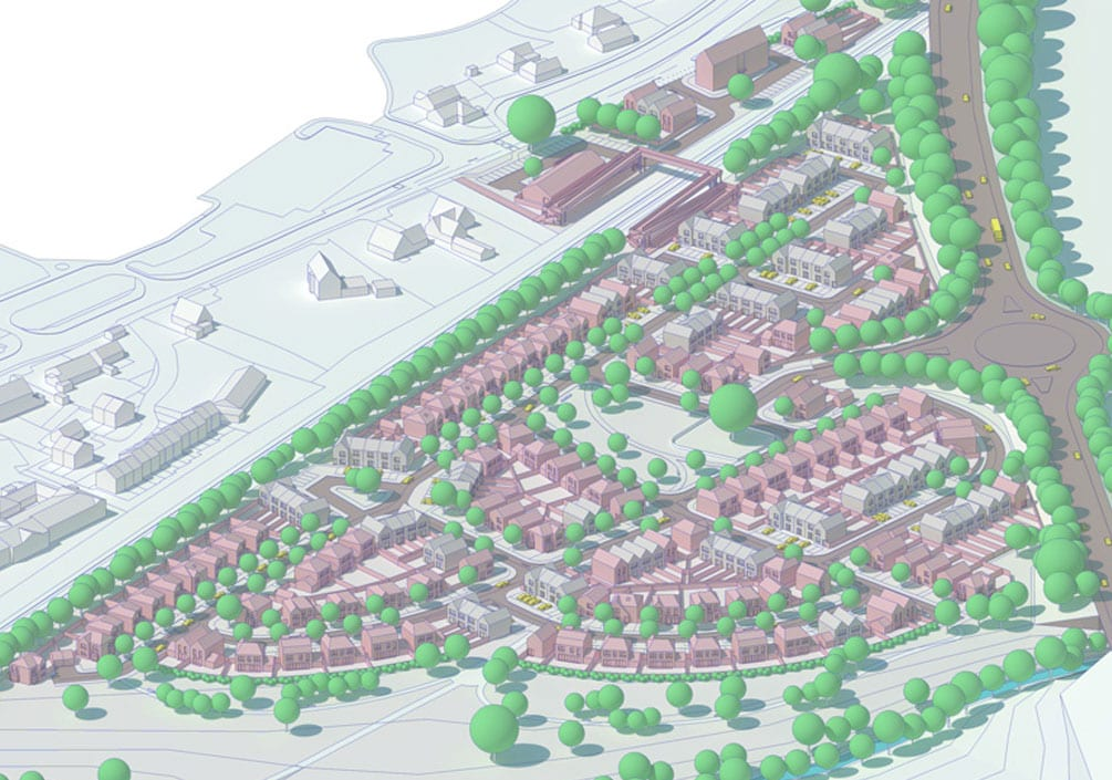 Ludlow Housing Elevate Architects Architectural Emporium Tesni Masterplan