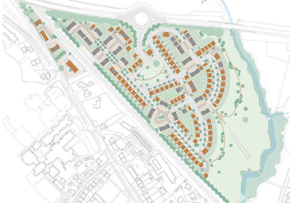 Ludlow Architectural Emporium Housing Masterplan