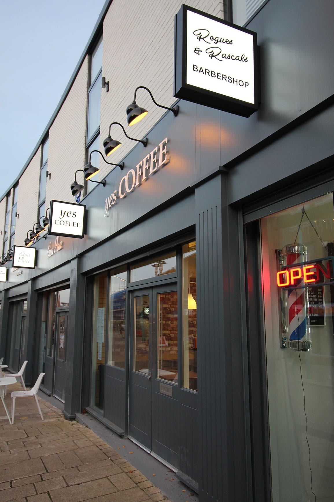 Knowsley Huyton Village Shop Front Architectural Emporium High Street Regeneration
