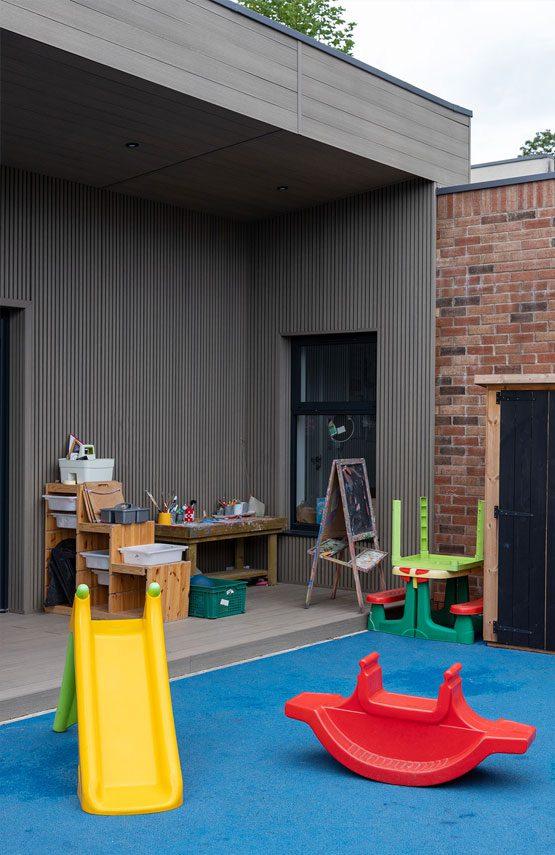 Pavillion Architectural Emporium Pre School. Photo: Matthew Westgate